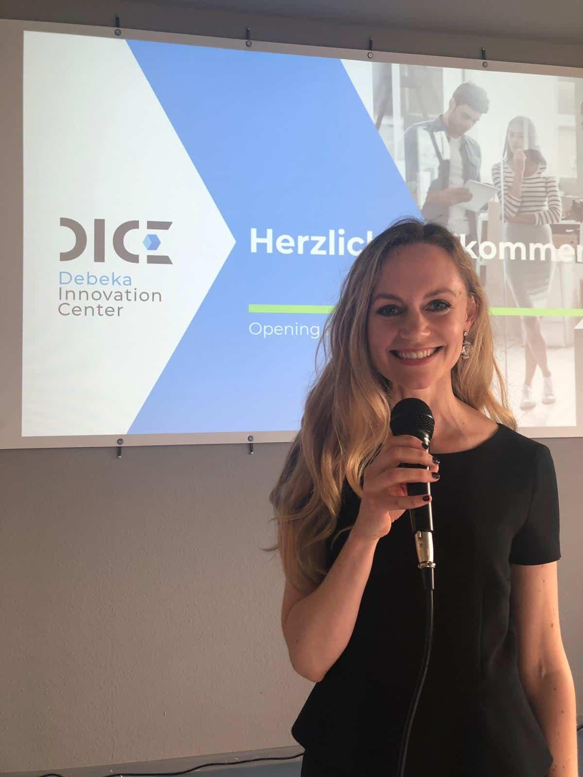 Janina Treis Moderatorin Innovation Center