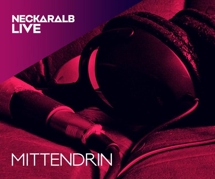 Janina Treis moderierte beim Radiosender Neckaralb Live die Sendung ´Mittendrin´.